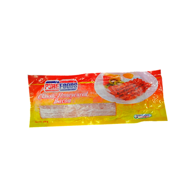 PUREFOODS  BACON HONEY CURED 250G