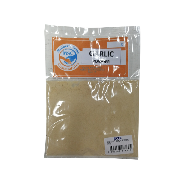 MSC GARLIC POWDER 25G