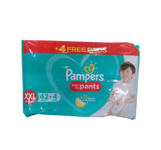 PAMPERS BABY DRY PANTS DIAPER XXL 40S