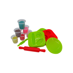 COLOR DOUGH DELICIOUS HAMBURGER SET