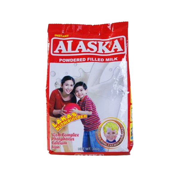 ALASKA POWDERED FILLED MILK IN POUCH 300G
