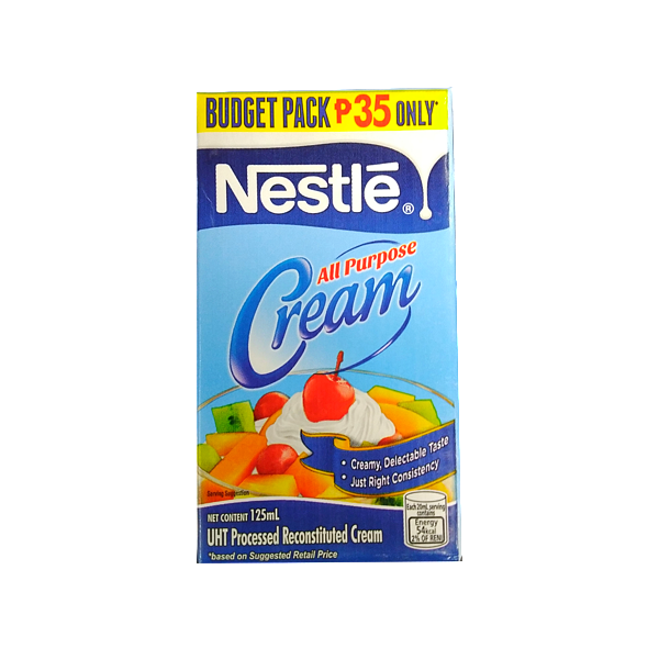 NESTLE ALL PURPOSE CREAM 125ML