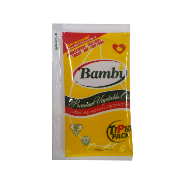 BAMBI PREMIUM VEGETABLE OIL TIPID PACK 40ML