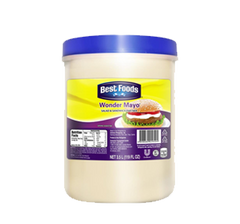 BEST FOODS REGULAR MAYONNAISE WONDER MAYO  3.5L