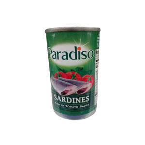 PARADISO SARDINES REGULAR EASY OPEN CAN 155G