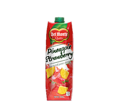 DEL MONTE PINEAPPLE STRAWBERRY JUICE DRINK 1L
