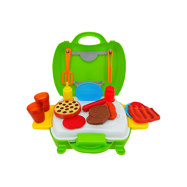 SET IN BAGS BBQ GREEN