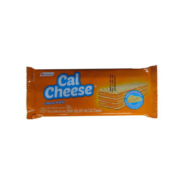 MAYORA CAL CHEESE WAFER 35G