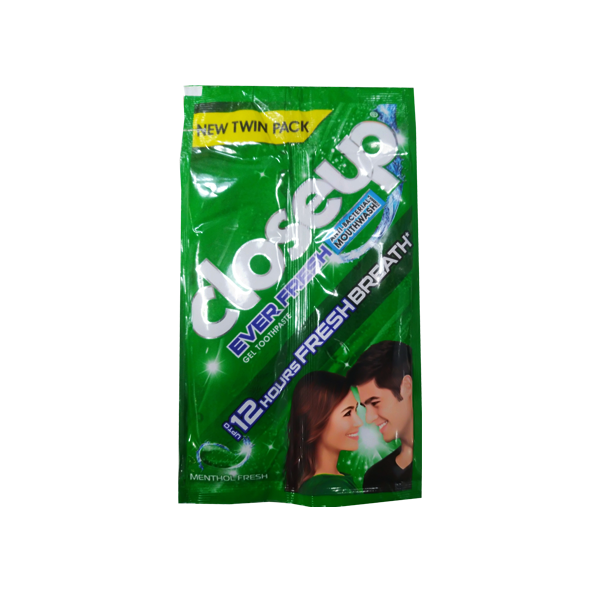 CLOSE UP MENTHOL FRESH TWIN PACK 20GX6