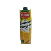 DEL MONTE SWEETENED PINEAPPLE 100% VITAMIN C JUICE DRINK 1L