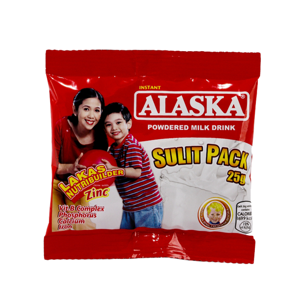 ALASKA POWDERED MILK DRINK 25G