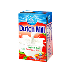 DUTCH MILL UHT YOGHURT DRINK W/ STRAWBERRY JUICE 90ML