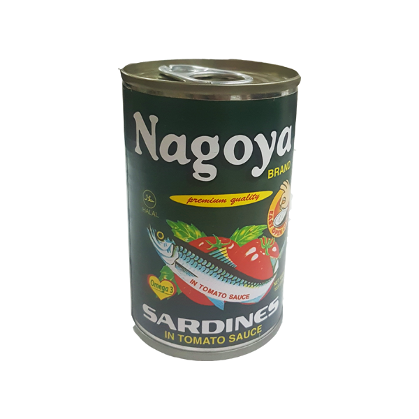 NAGOYA SARDINES IN TOMATO SAUCE EASY OPEN CAN 155G