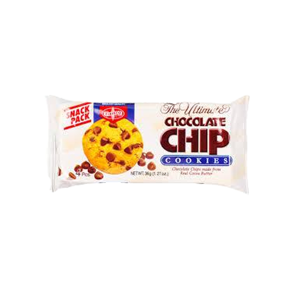FIBISCO CHOCO CHIPS COOKIES 36G