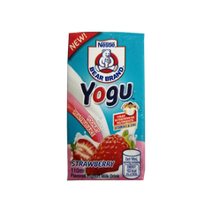 BEAR BRAND YOGU STRAWBERRY 110ML