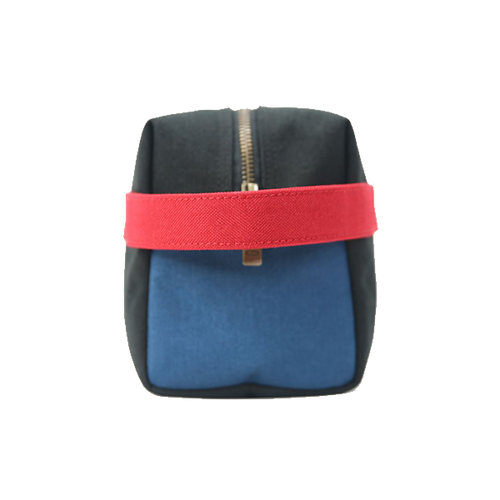 G.RIDE TOILET BAG BLACK BLUE AND RED DENIS