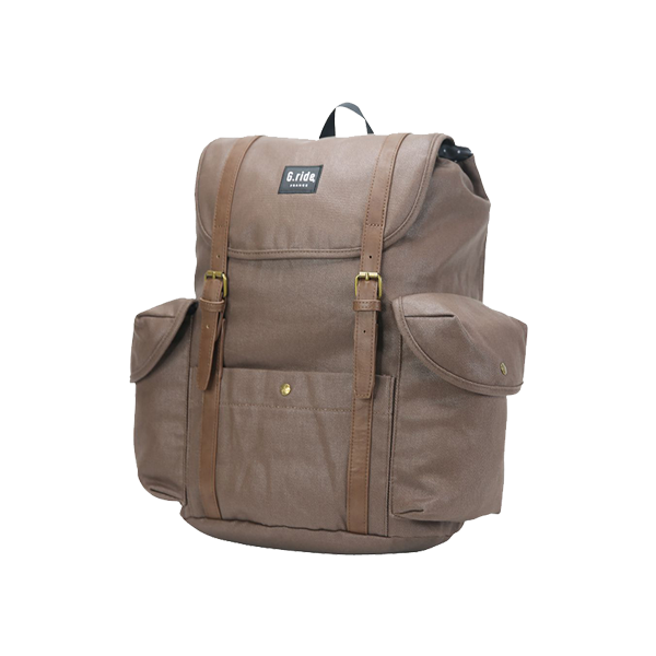 G.RIDE BROWN DIMITRI BACKPACK