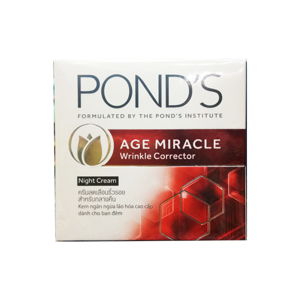 PONDS AGE MIRACLE WRINKLE CORRECTOR NIGHT CREAM 50G