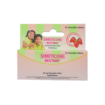 RESTIME CHEWABLE TABLET 40MG