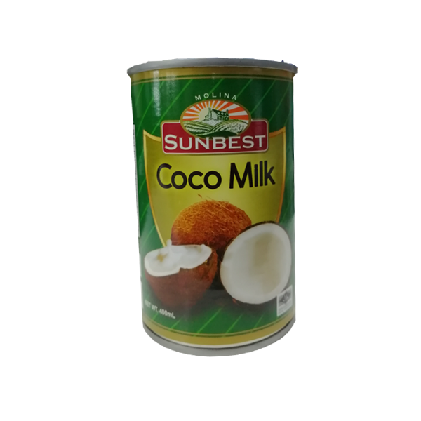 SUNBEST COCONUT MILK 400ML