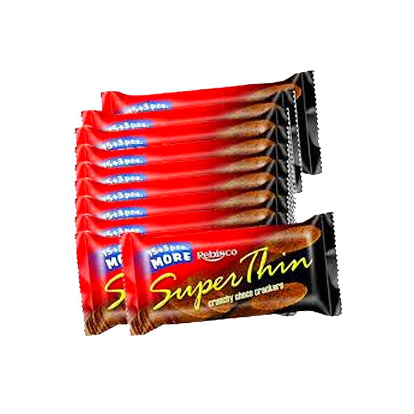 SUPER THIN CHOCO CRACKER 10S