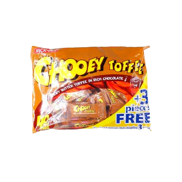 CLOUD 9 CHOOEY TOFFEE CHEWY BUTTER TOFFEE IN RICH CHOCOLATE 40S