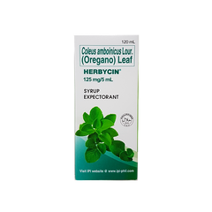 HERBYCIN SYRUP120ML
