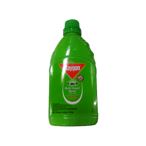 BAYGON MULTI INSECT SPRAY 500ML