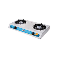 KYOWA GAS STOVE DOUBLE BURNER KW-3502