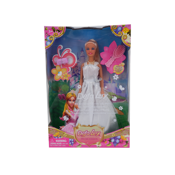 DEFA LUCY DOLL WHITE