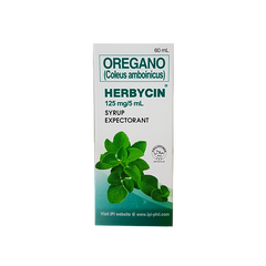 HERBYCIN SYRUP 60ML