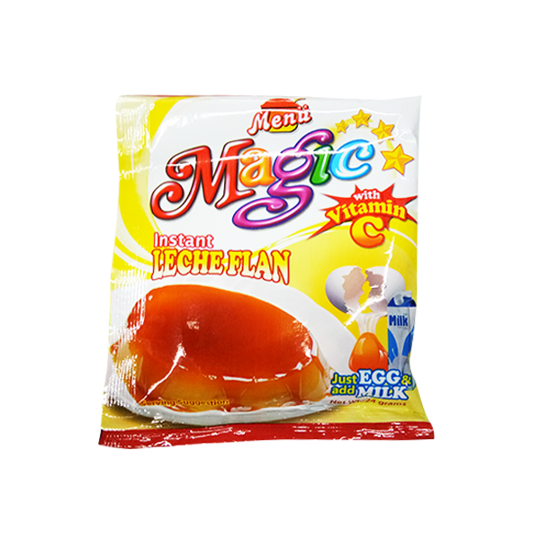 MENU MAGIC JELLY LECHE FLAN 24G