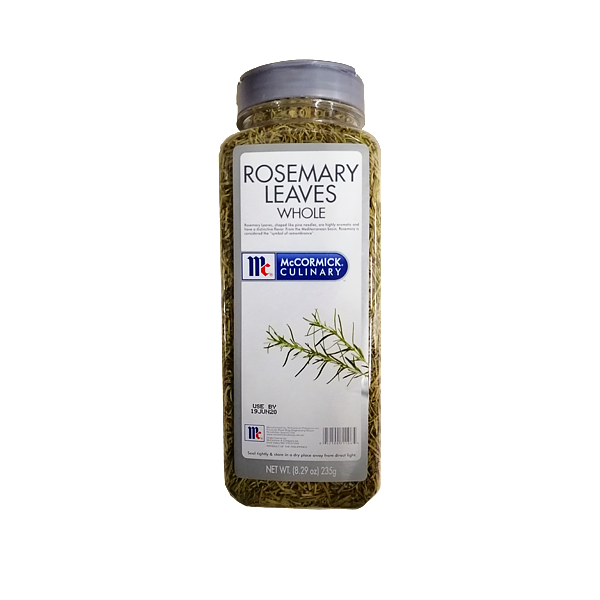 MCCORMICK  ROSEMARY LEAVES WHOLE 235G