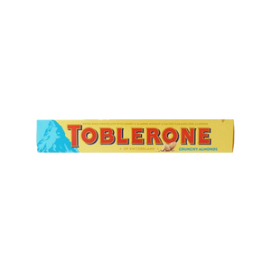 TOBLERONE CRUNCHY ALMONDS 100G