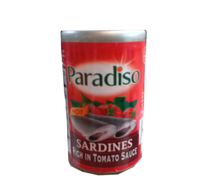 PARADISO SARDINES HOT EASY OPEN CAN  155G