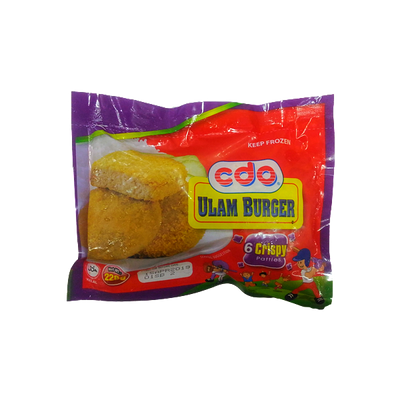 CDO ULAM BURGER CRISPY PATTIES 228G