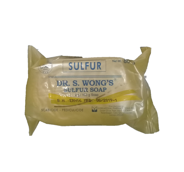 DR.WONGS SULFUR SOAP  80G