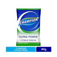 CHAMPION CITRUS FRESH 40G