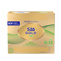 S-26 GOLD TWO MILK 1.2 KGS SUPPLEMENT FOR 6-12 MONTHS