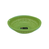 FRUIT BOWL / COLANDER GREEN