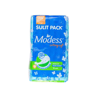 MODESS NAPKIN COTTONY SOFT REGULAR NON-WINGS 1X12