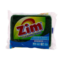 ZIM SCOURING PAD HEAVY DUTY 100MMX75MMX20MM