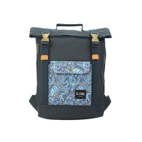 G.RIDE NAVY BALTHAZAR BACKPACK WITH JUNGLE PATTERN