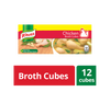 KNORR CHICKEN BROTH CUBES 12 CUBES