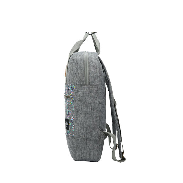 G.RIDE GREY DIANE BACKPACK COVERED WITH FLOWERS