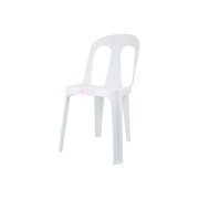 COFTA RUBY CHAIR PLAIN WHITE