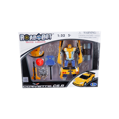 YELLOW CORVETTE MOBILE TRANSFORMER