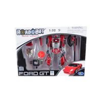 RED FORD GT MOBILE TRANSFORMER