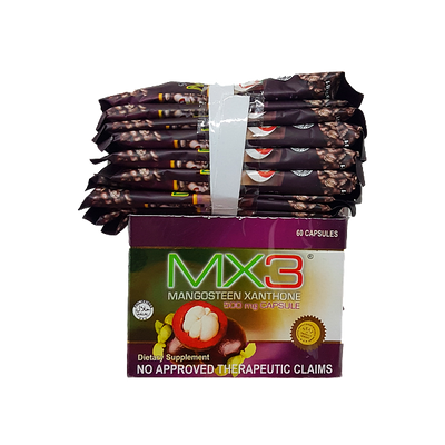 MX3 600MG 60 CAPSULES + MX3 COFFEE 10S