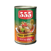 555 FRIED SARDINES HOT & SPICY 155G
